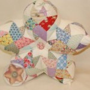 3-D Star Pillow Pattern