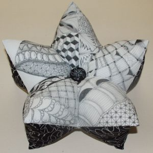 Archived 3-D Star Pillow (2015)-2