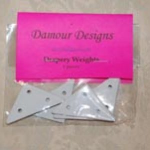 Triangle Shaped Drapery Weights
